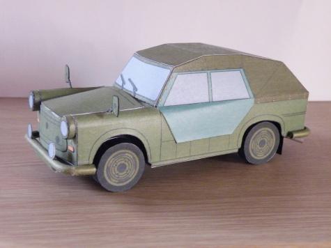(1980)  Trabant 601F Kübel