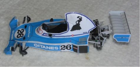 Ligier JS 5- J.Laffite GP Brazil/1976/
