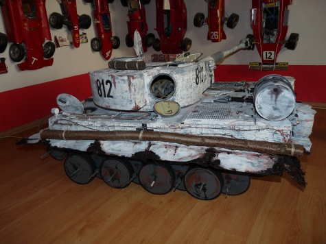 PzKw VI Tiger I - Rusko 1943
