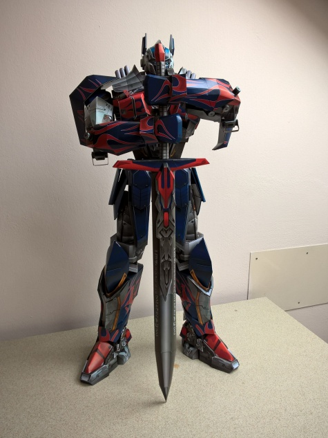 Optimus Prime AoE