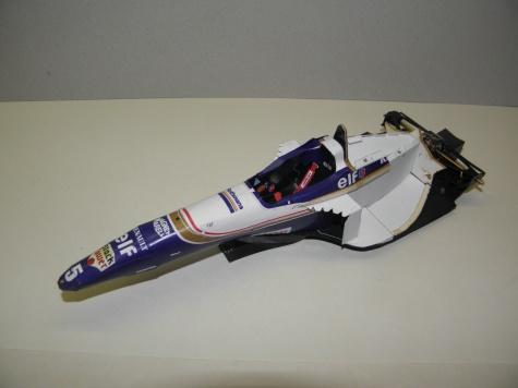 Williams FW18, 1996, D. Hill