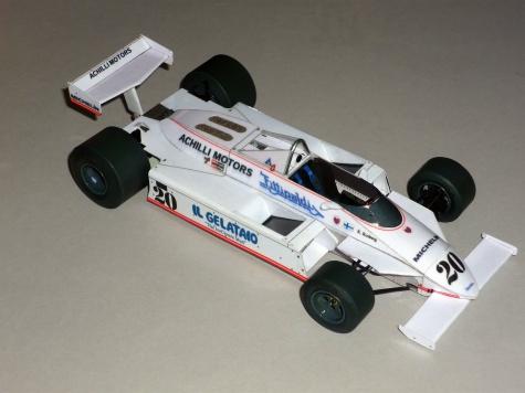 Fittipaldi F8C - Keke Rosberg - GP Německo 1981