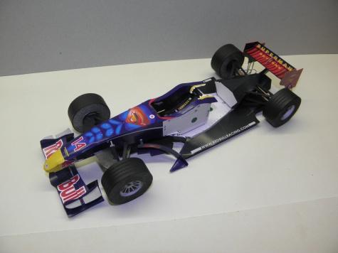 Red Bull RB2, 2006, D. Coulthard, Monaco GP