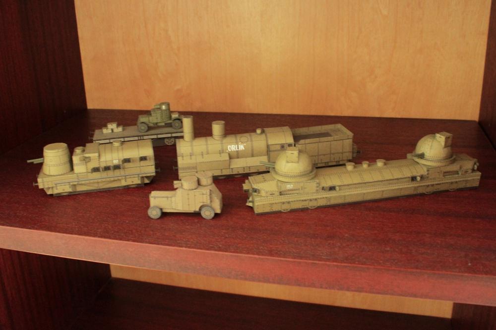 Legionářský vlak Orlík