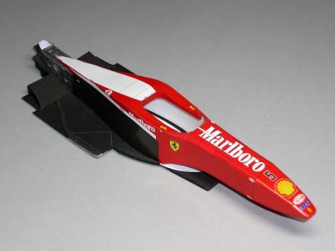 Ferrari F310B - Michael Schumacher - GP Monaka 1997