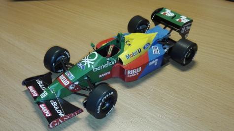 Benetton B188 - 1989 - Alessandro Nannini