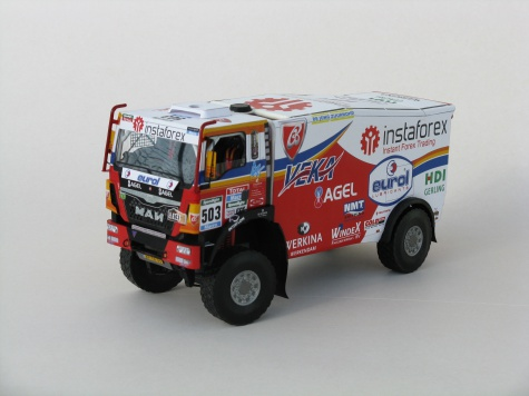 MAN TGS 18.480 4x4 Ales Loprais Dakar 2015