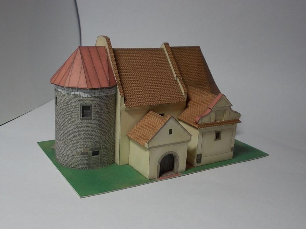 Kostel Sv. Jiří, Hradešín