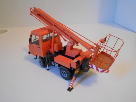 Multicar 25 - montazni plosina