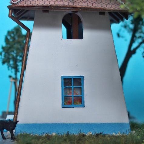 Zvonica z obce Louky