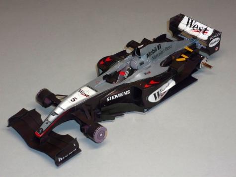 McLaren MP 4/19 - David Coulthard - GP Monaka 2004