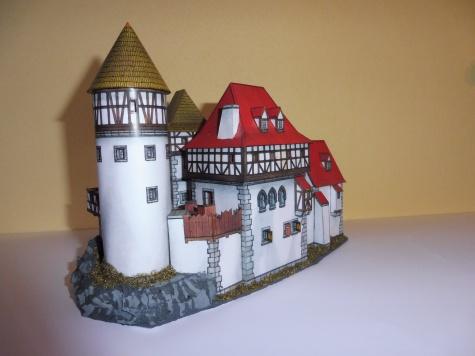 Romantický hrad ze 14. století