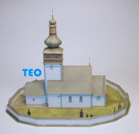 Kostel sv. Mikulase Poruba okr. Prievidza