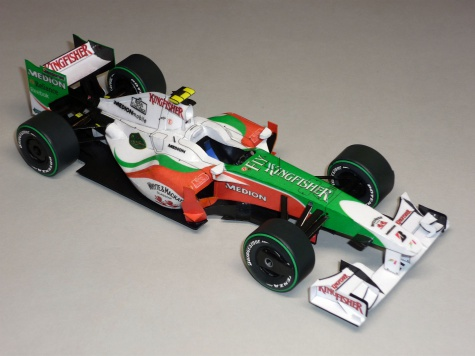 Force India VJM02 - Giancarlo Fisichella - 2009