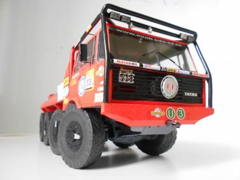 Tatra 813 8x8 Truck Trial