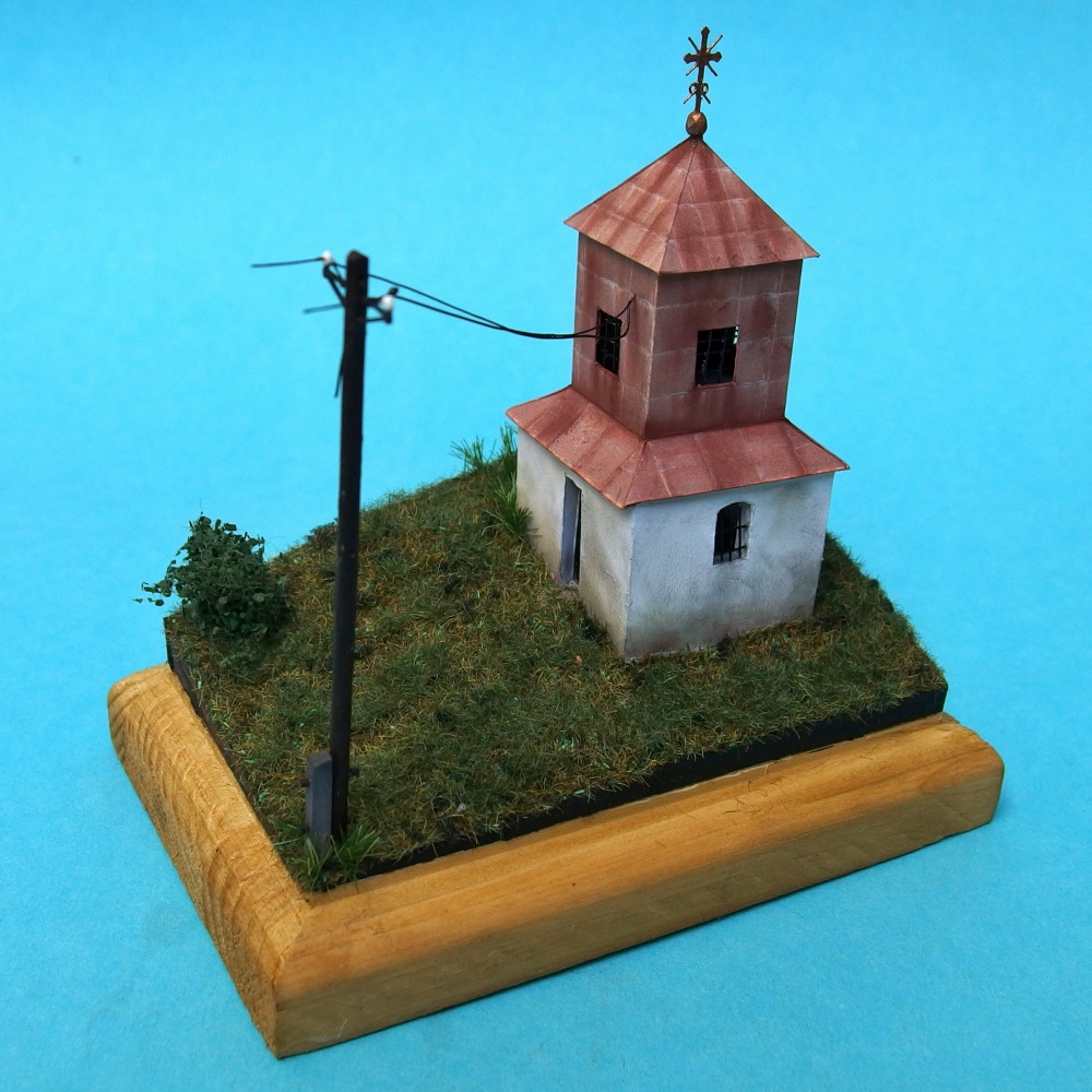 Zvonica v Povine