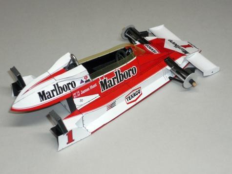 McLaren M26 - James Hunt - GP Španělska 1977