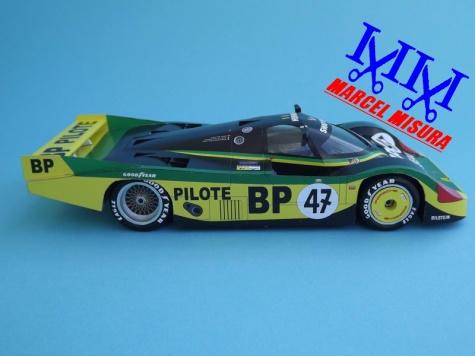 Porsche 956L, John Fitzpatrick Racing, Le Mans 1983