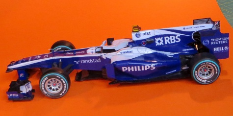 Williams FW32, GP Brazil 2010, Hülkenberg pole position