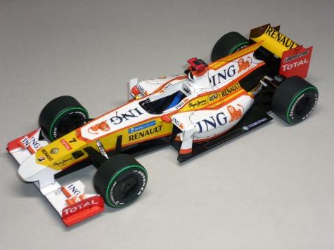 Renault R29 - Fernandon Alonso - 2009