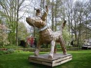 Pamätník psích kozmonautov  Lisse, Holandsko