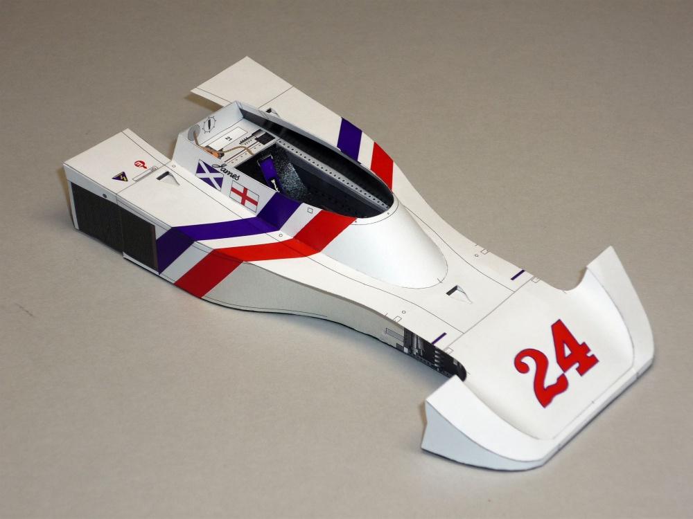 Hesketh 308B - James Hunt - GP Nizozemí 1975
