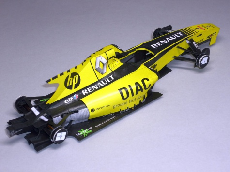 Renault R30 - Vitalij Petrov - GP Evropy 2010