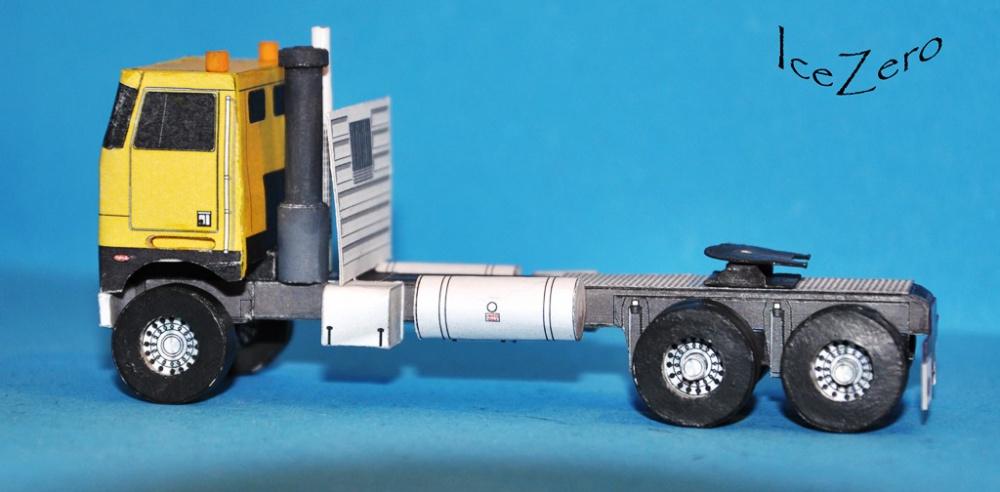 Peterbilt+Concrete Mixer