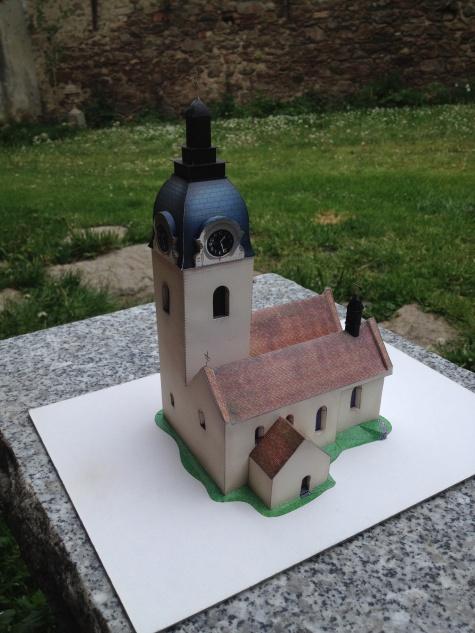 kostel sv. Vavřince - Putim