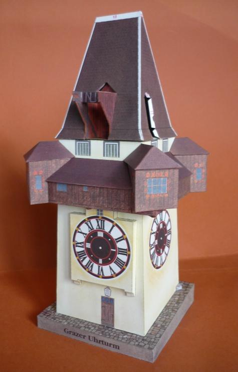 Hodinová věž Graz