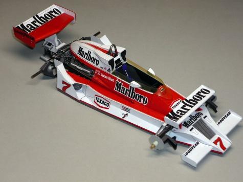 McLaren M26 - James Hunt - GP Španělska 1978