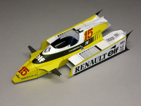 Renault RE-20 - J.P.Jabouille - GP USA West 1980