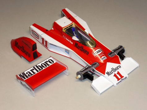 McLaren M23 - James Hunt - GP USA West 1976