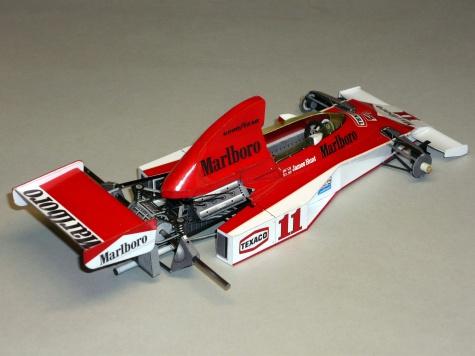 McLaren M23 - James Hunt - GP USA West 1976