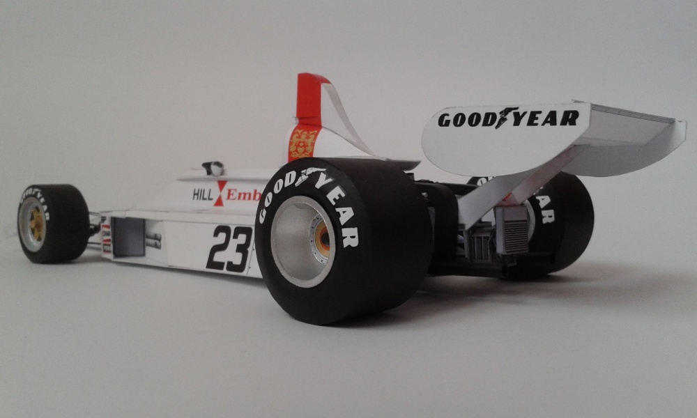 Lola GH1, Graham Hill, 1975