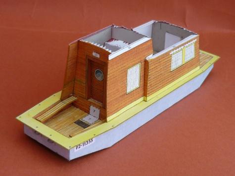 obytný člun Šárka