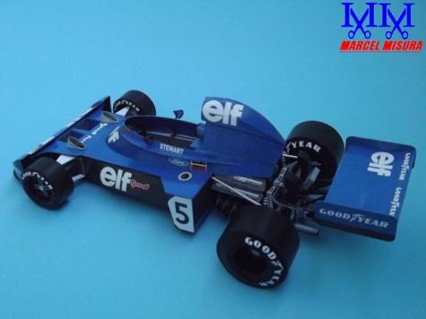 Tyrrell 006, 1:17, Petr Špinler