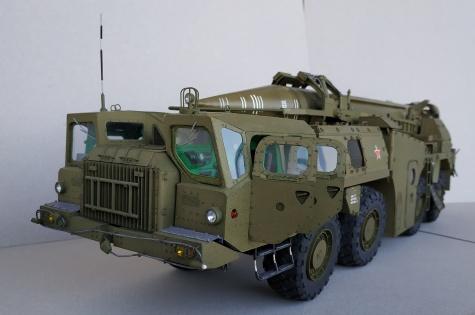 SS-1C SCUD B + MAZ-543