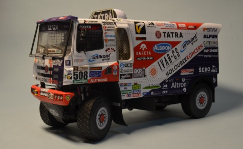 Tatra 158 Phoenix - Dakar 2017