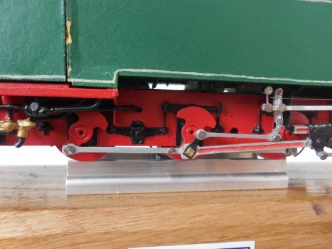 Parní úzkorozchodná lokomotiva typu CS 762 ČKD