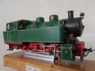 Parní úzkorozchodná lokomotiva typu CS 762 ÈKD