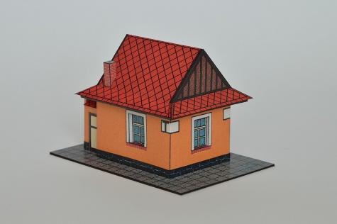 Strážny domček na železničnej trati Handlová - Horná Štubňa