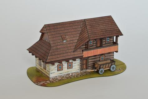 Dolnooravský zrubový dom