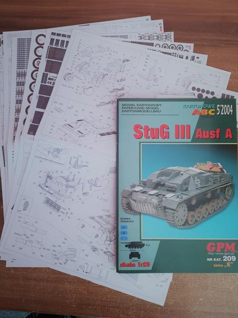 STUG III Ausf A / 1:25 / GPM