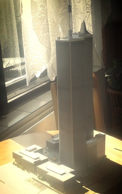 World Trade Center (WTC), Twin Towers - 1:1120