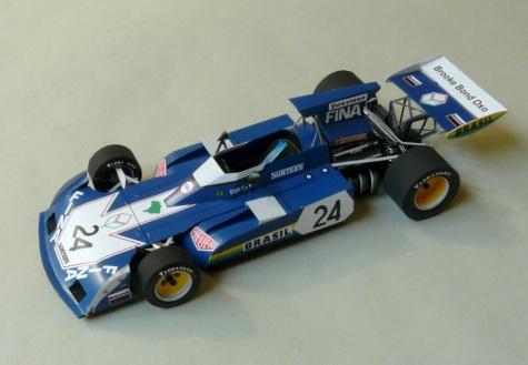 Surtees TS 14A, GP Monaco 1973