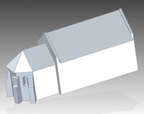 Kostel z Čierneho Brodu