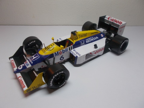 Williams FW11B, N. Piquet, GP Italy 1987
