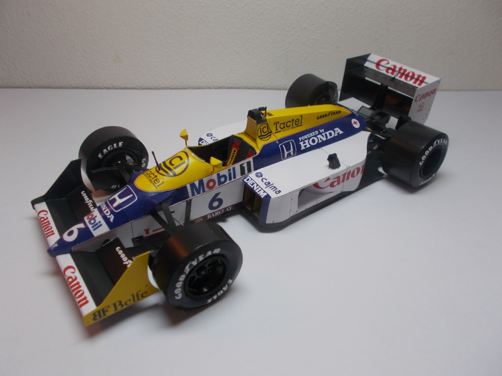 Williams FW11B, N. Piquet, GP Italy 1987