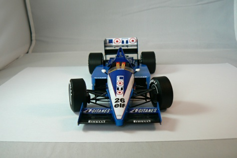 LIGIER JS27, J. Laffite-GP France 1986